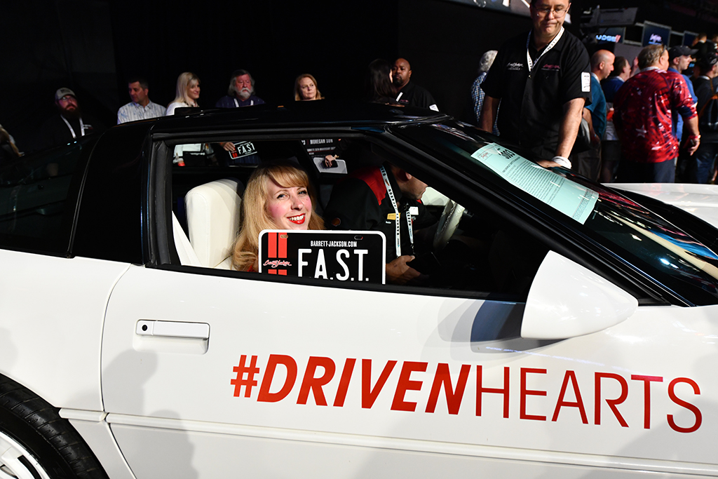 Driven Hearts Corvette American Heart Association
