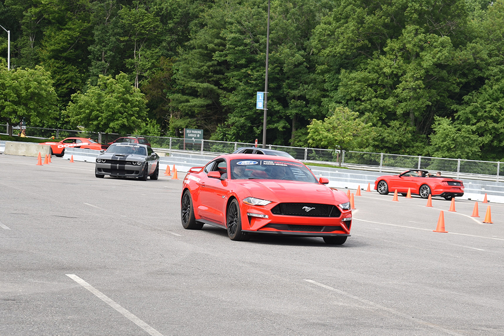 Ford Ride 'N Drives, Chevrolet Hot Laps and Dodge Thrill rides are always a popular attraction.