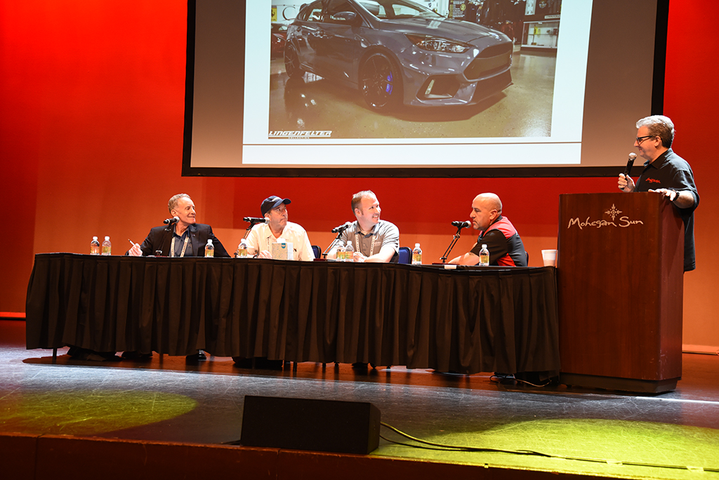 Experts discuss future collectibles at one of the Behind The Hobby Collector Car Symposiums.