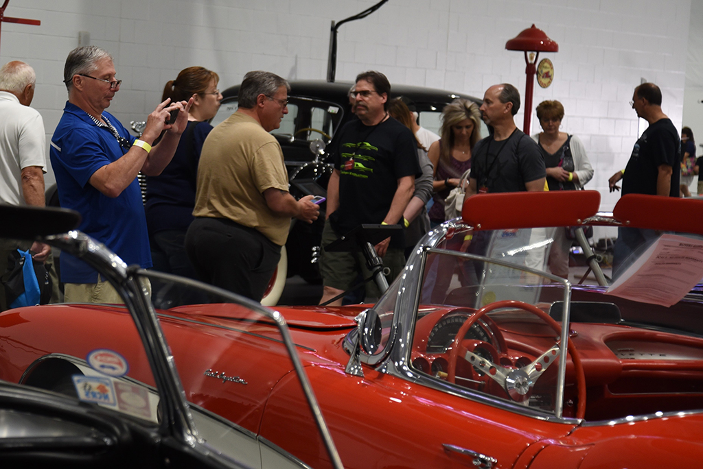 There are photo opportunities galore at any Barrett-Jackson event.