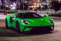 A FORD GT TO ENVY: Lot #1417 makes it easy being green